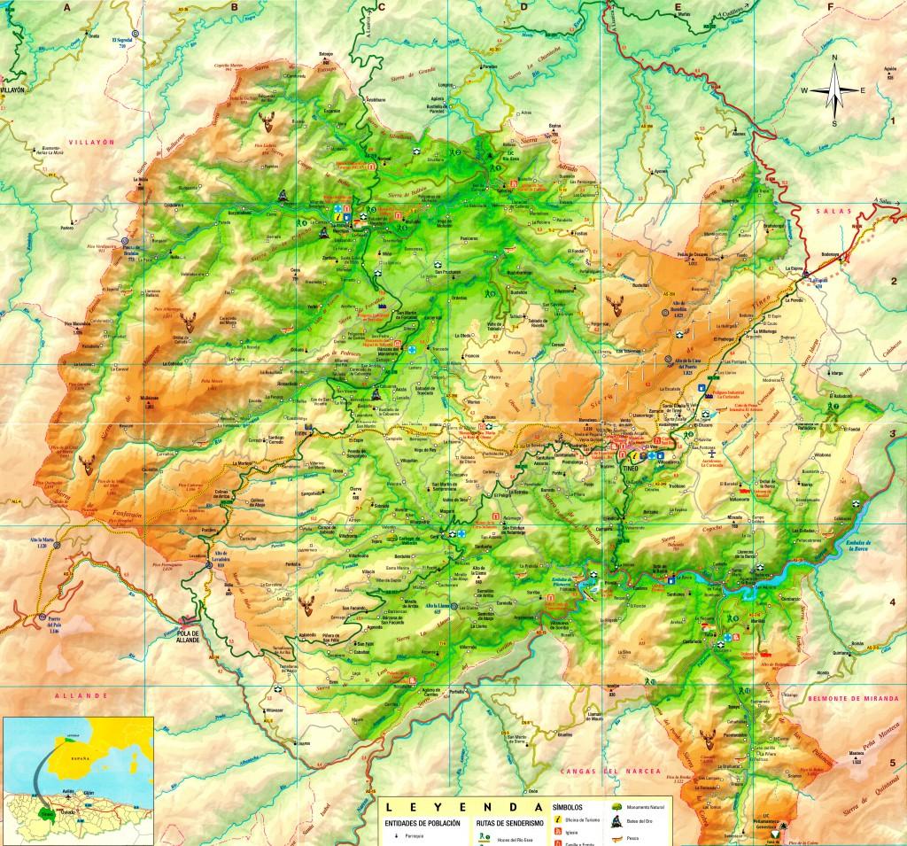Tineo_map_